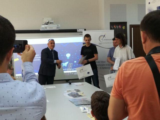 """Първо място в конкурс за млади предприемачи """"Имам бизнес идея"""" [10.06.2019]"""